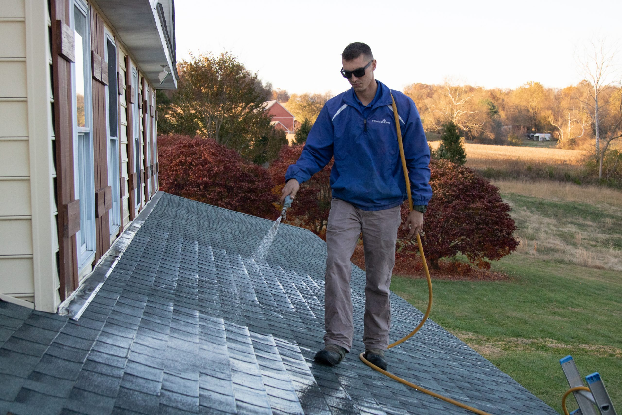EXTEND THE LIFE OF YOUR ROOF WITH A ROOF WASH