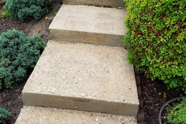Concrete Sidewalk Cleaning | After Pressure Wash | Pikesville MD
