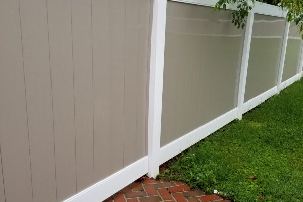 Fence Cleaning | After Pressure Wash | Pikesville MD