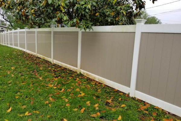 Fence Cleaning | Before Pressure Wash | Pikesville MD