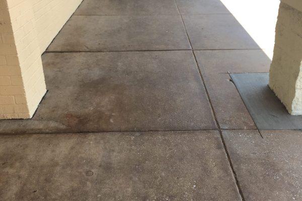 before_concrete sidewalk cleaning_timonium, MD