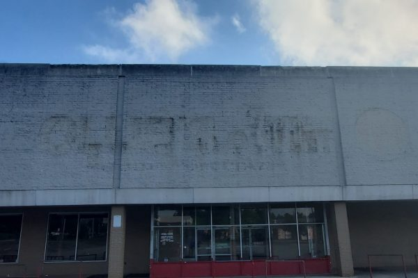 Store Wall | Before Pressure Washing Randallstown MD